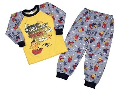 BNWT  Baby Boys Toddler Kids Pyjamas Pjs 100% COTTON 12-18 Months - 6-7 Years
