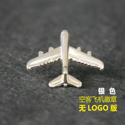 new Airbus Air Bus A380 Airlines Flight Badge Airways Golden Wings Pin silver