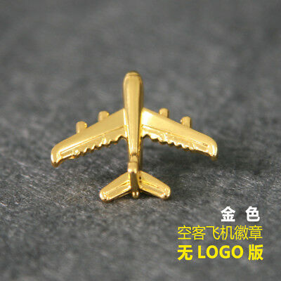 new Airbus Air Bus A380 Airlines Flight Badge Airways Golden Wings Pin golden