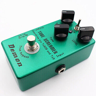 Upgraded Effect Pedal Hand-made Distortion Tube Green TS9 TS808 High Quality
