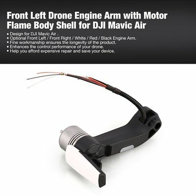 Front Left Drone Engine Arm with Motor Flame Body Shell for DJI Mavic Air k