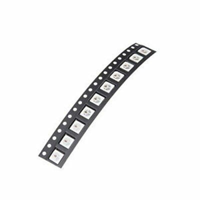 10x WS2812B Built-in WS2811 SMD 5050 RGB LED 4PIN Individually Addressable q&