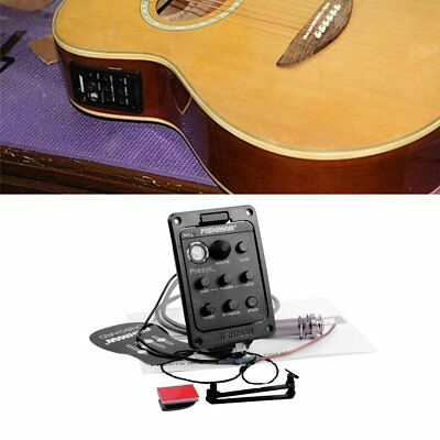 Fishman Onboard Preamp Folk Guitar Pickup Musical Instrument Accessory xhu