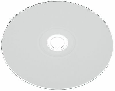 10 Ritek NON PRINTABLE Blank CD-R media 52X WHITE TOP NOT Printable cd