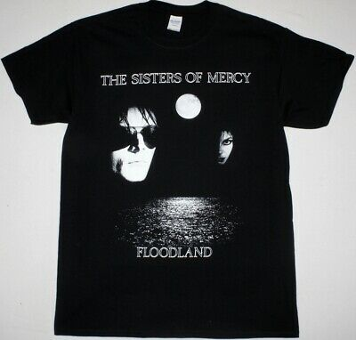 The Sisters Of Mercy Floodland Black T Shirt Gothic Rock Post Punk