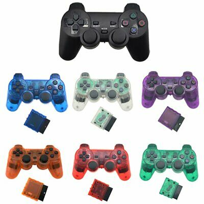 Wireless Gamepad 2.4G for Snoy PS2 Console Joystick Wireless Controller l