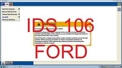 Virtual Machine Contains Great FORD CARS Tools