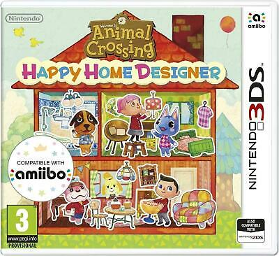 Animal Crossing Happy Home Designer Nintendo 3DS PAL UK (with AR cards)