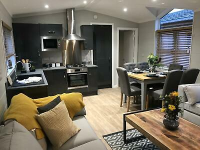 Luxury Custom Built Lodge with HOTTUB 12 Month Owners Only Holiday Park Anglesey