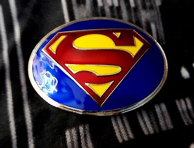 Super Hero Super Man  Logo Belt Buckle Dc Superman Snap Belt Justice League