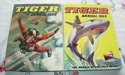 Tiger Annuals 1968 & 1969 Boys Annual