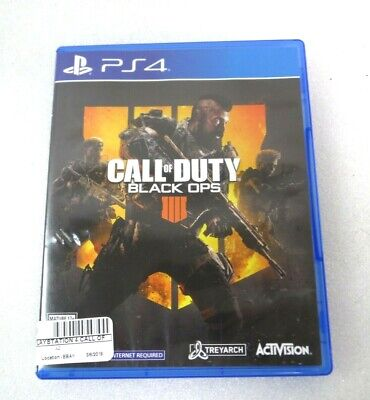 SONY Sony PlayStation 4 Game CALL OF DUTY BLACK OPS IIII - PS4