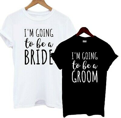 I'm Going To Be A Bride Groom T Shirt Present Gift Engagement Bridal Shower Tee