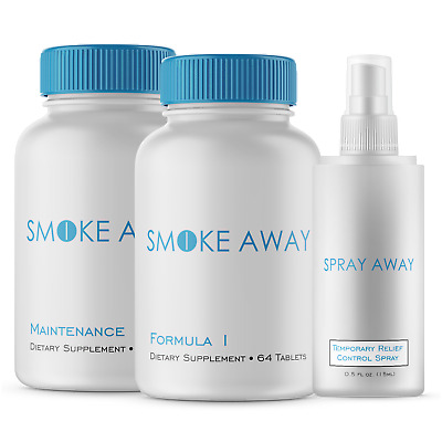 Smoke Away Essential Kit - Quit Smoking Program
