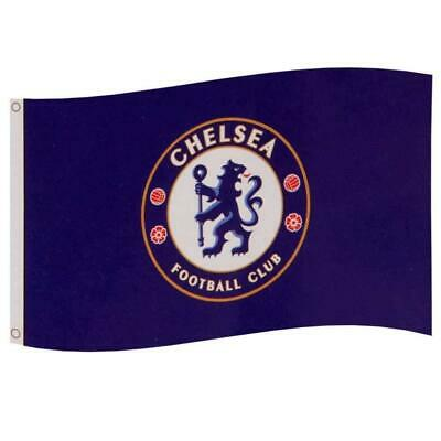 Chelsea Fc Suporters Flag 5Ft X 3Ft 5X3' With Club Crest Banner