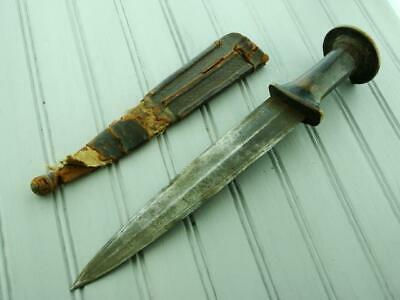 Antique Ethnographic Sudanese Africa Fighting Dirk Dagger Knife Hunting Knives