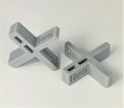 Decking Spacers (Set of Two) Sets Decking Gaps of 5, 6, 8 or 10mm in Grey