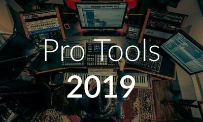 Avid Pro Tools Perpetual License with 1-Year of Updates + Support Plan Mac & Win