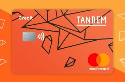Tandem credit Card Referral £10 amazon voucher 0.5% Cashback card
