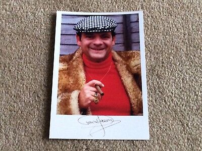 David Jason As Del Boy Derek Trotter Only Fools And Horses Pre Print Signed Card
