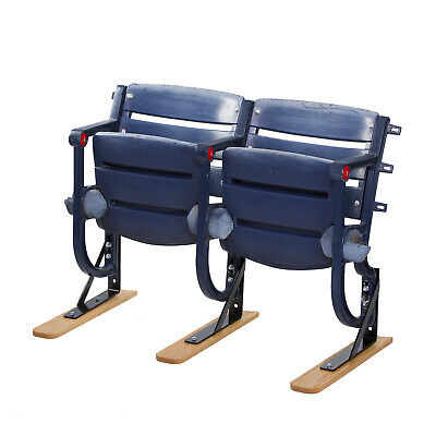 Wood Seat Feet / L-bracket Floor Stand Combos for Turner Field Seats, Braves