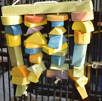 wooden parrot toys chewys