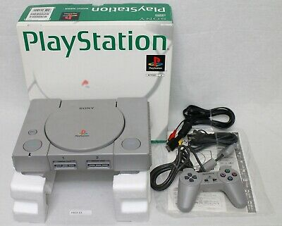 [EMS fast ship] PS1 Console Boxed Working SCPH-5500 Japan SONY 1903-13