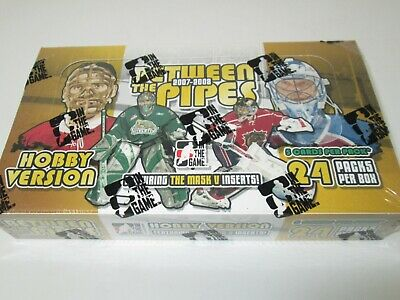 2007-08 Itg Between The Pipes Hobby Hockey Box
