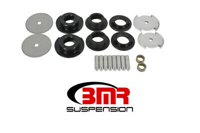 BMR 16-17 6th Gen Camaro Rear Cradle Lockout Bushing Kit - Black - bmrBK063