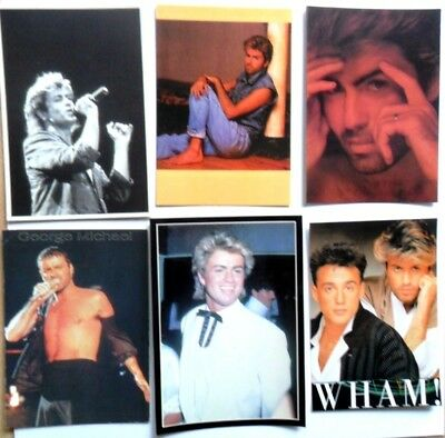 George Michael Rare Turkish Postcard Poster Andrew Ridgeley 55165 Moderate Price Wham