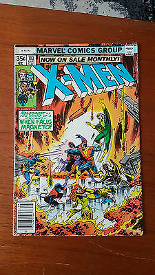 Uncanny X-Men 113 VG Condition Claremont
