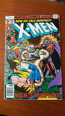 Uncanny X-Men 112 VG Condition Claremont