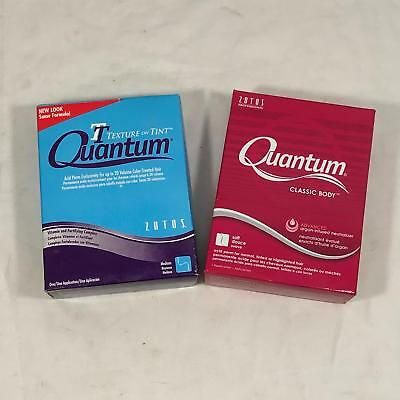 Vintage Quantum Soft & Medium Perm Boxes Kits NEW; Unopened