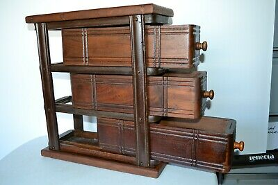 Antique singer sewing machine draw cabinet   vintage history