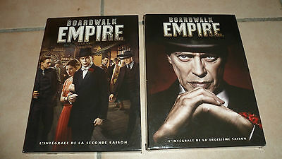 coffret DVD - BOARDWALK EMPIRE - saison 2 et 3 - BE