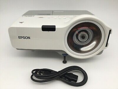 Epson PowerLite 410W H330A 3LCD - Short-Throw LCD Projector - 2337 Lamp Hours