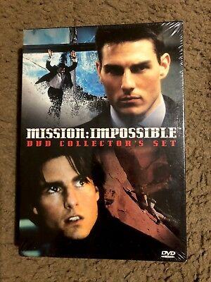 Mission: Impossible - Collector's Set (DVD, 2001, 2 Disc set) Tom Cruise New!