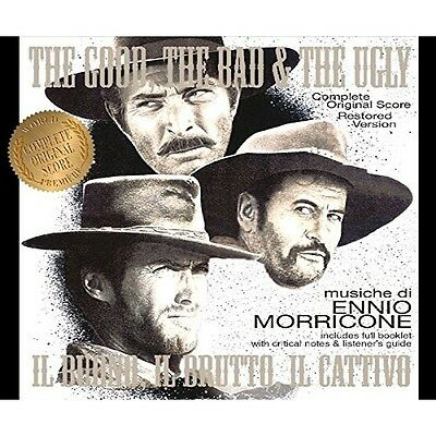 The Good The Bad & The Ugly -  2 x CD Complete - Limited- Ennio Morricone