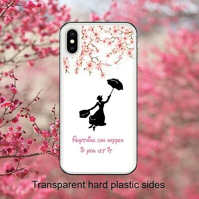 Disney Mary Poppins Quote Blossom Case Cover for iPhone Samsung Huawei Google