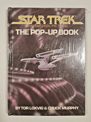 Vintage 1980 STAR TREK THE MOTION PICTURE POP-UP BOOK SEALED!