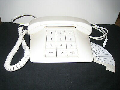 Superbe Audioline Tel 32 Vintage Retro Funky Telephone, Phone Book, Communication,