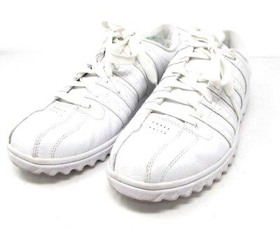 01bedf0ae5 KSwiss mens Kayswiss K-64 low classic white leather tennis shoes sneakers  10 1/