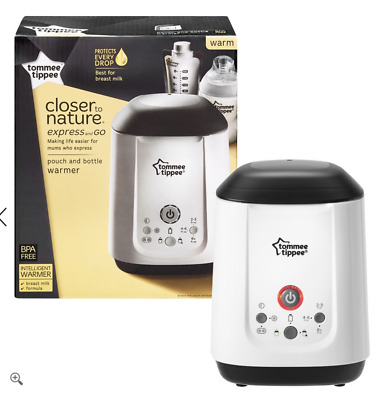 Tommee Tippee Closer To Nature Express & Go Pouch & Bottle Warmer Free Shipping!