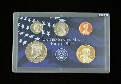 2000-S United States Mint Proof 10-Coin Set w/State Quarters COA Mint (4026)