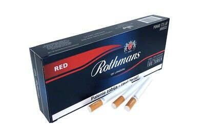 ROTHMANS RED Empty Cigarette FilterTubes KingSize 5 Boxes of 100 LongFilter 24mm