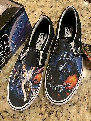 28dc05facc Vans Classic Slip On A New Hope Star Wars US Mens Size 11 New with box