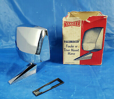 NOS 50s/60s vintage Yankee Pacemaker sideview mirror Custom Hot rod Rat truck