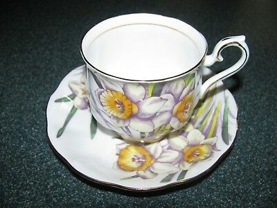 ROYAL ALBERT Flower of the Month Series Daffodil No. 3  England EXCELLENT