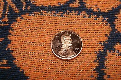 1995s deep cameo proof lincoln memorial cent/penny (uat-2)