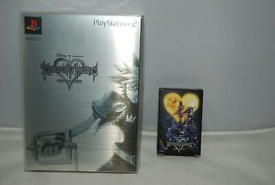 NEW ! PlayStation 2 KINGDOM HEARTS FINAL MIX Platinum Limited w/ Card Game PS2